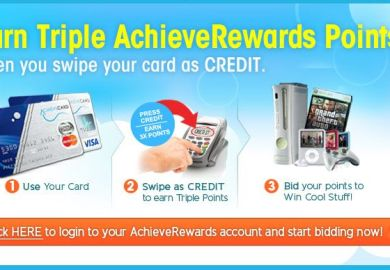 Achieve Card Rewards Points