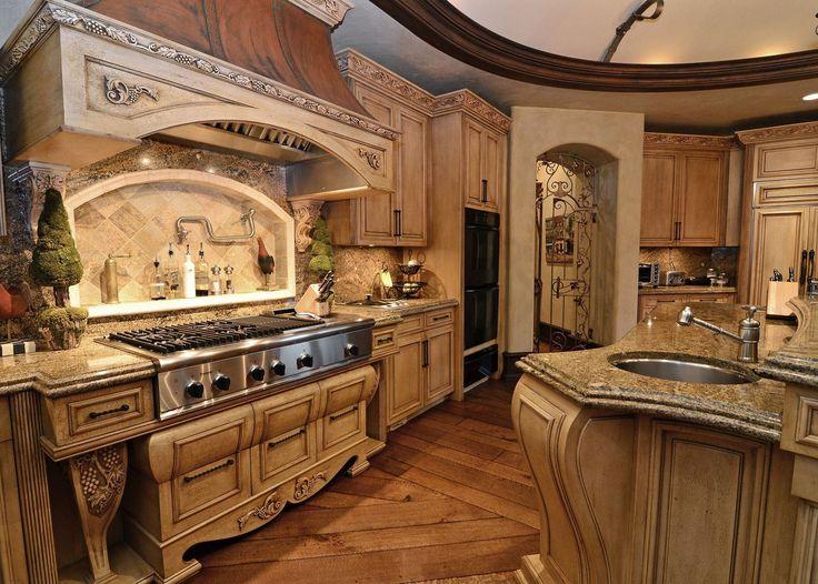 old world kitchen  Kitchen  Pinterest