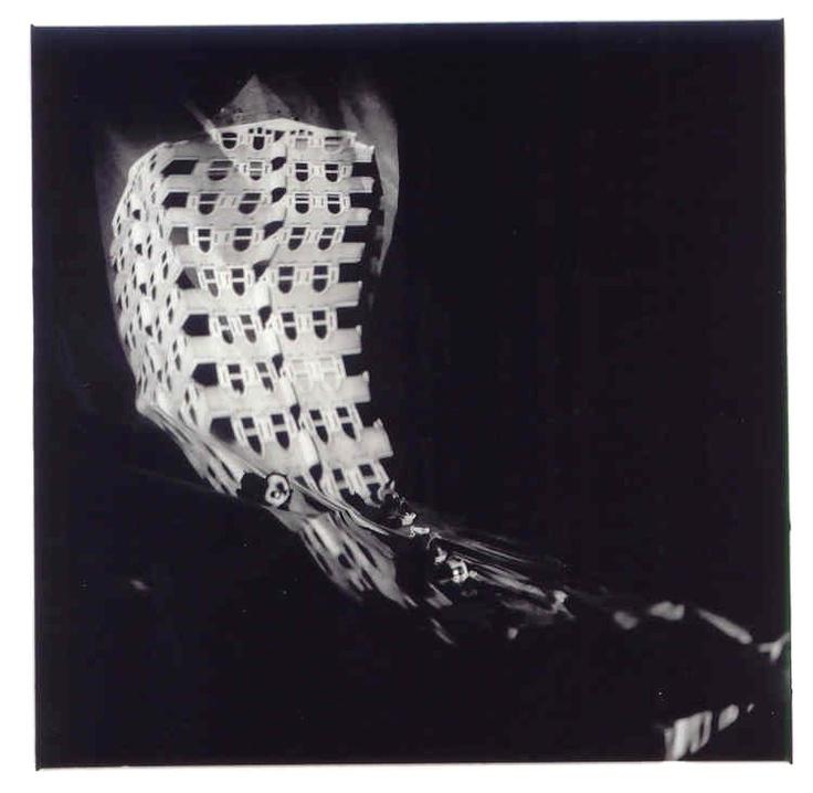 22, R'dam TV, 1989. Aleydis Rispa.Gelatina de plata, gelatin silver print 60x50cm.