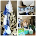 Whale baby shower decor ideas under the sea baby shower pinterest