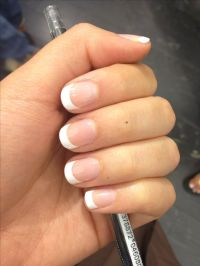 French tip. Nails. | prom
