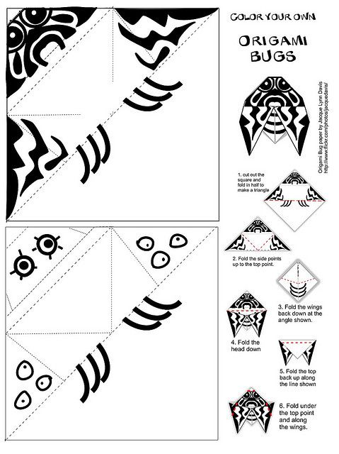 Origami Coloring Pages Coloring Pages