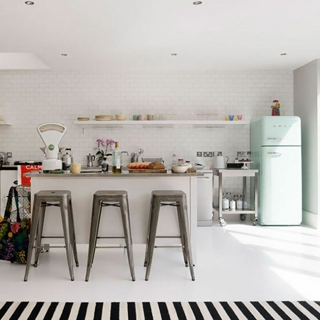 25 Lovely Retro Kitchen Design Ideas | Daily source for inspiration and fresh ideas on Architecture, Art and Design