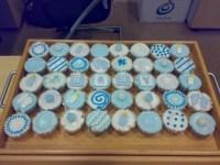 baby boy cupcakes | Baby Boy Shower Ideas | Pinterest