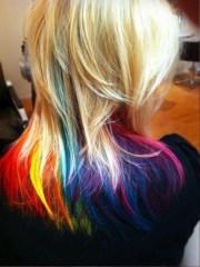 rainbow tips fantabulous hair