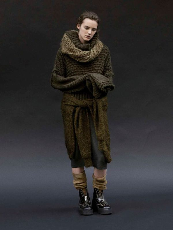 knitGrandeur: Olive is the New Black