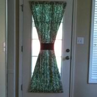 Kitchen door curtain !