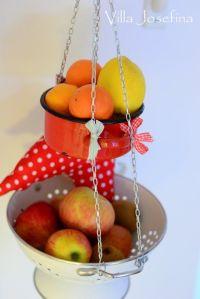 DIY Hanging Fruit Basket | Kitchen | Pinterest