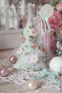 Shabby Chic Christmas Crafts | pink Christmas | Pinterest