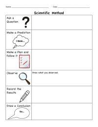 scientific method worksheet   PinPoint