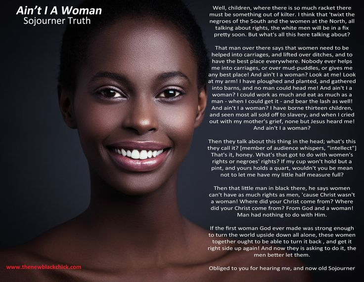 Woman I Text Aint