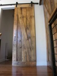 Sliding Barn Door Reclaimed Wood. | ideas for the home ...
