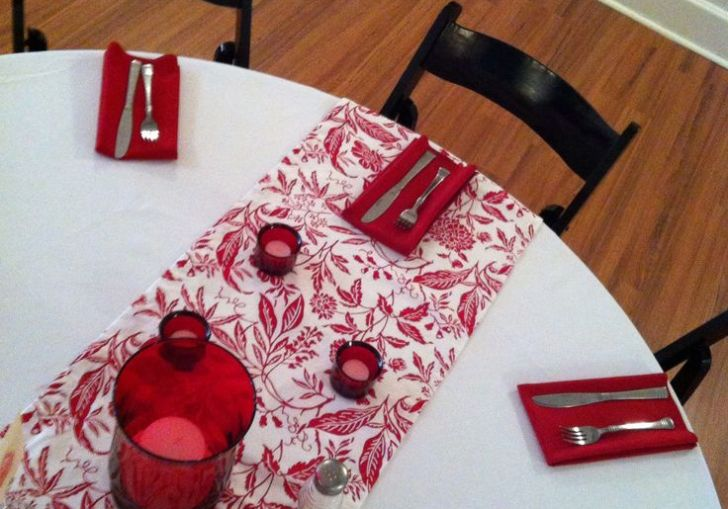 Table Runners For Round Tables To Sew