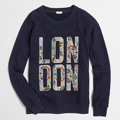 factory london sweatshirt