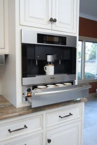 built-in coffee maker | Making A House A Home | Pinterest