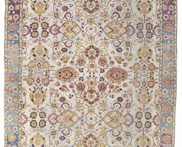 An Agra carpet, North India, last quarter 19th century.