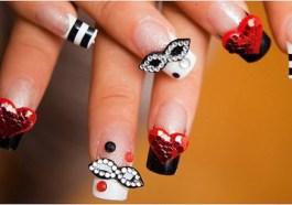 Nail art per Carnevale in gel e smalto: foto da cui trarre ispirazione