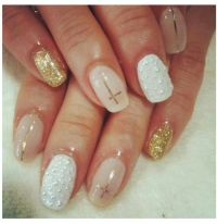 Modern nail art | BossLadyBeauty_Inside'n'Out | Pinterest