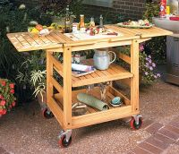 Patio Serving Cart Woodworking Plan   Wood Working Plans ...