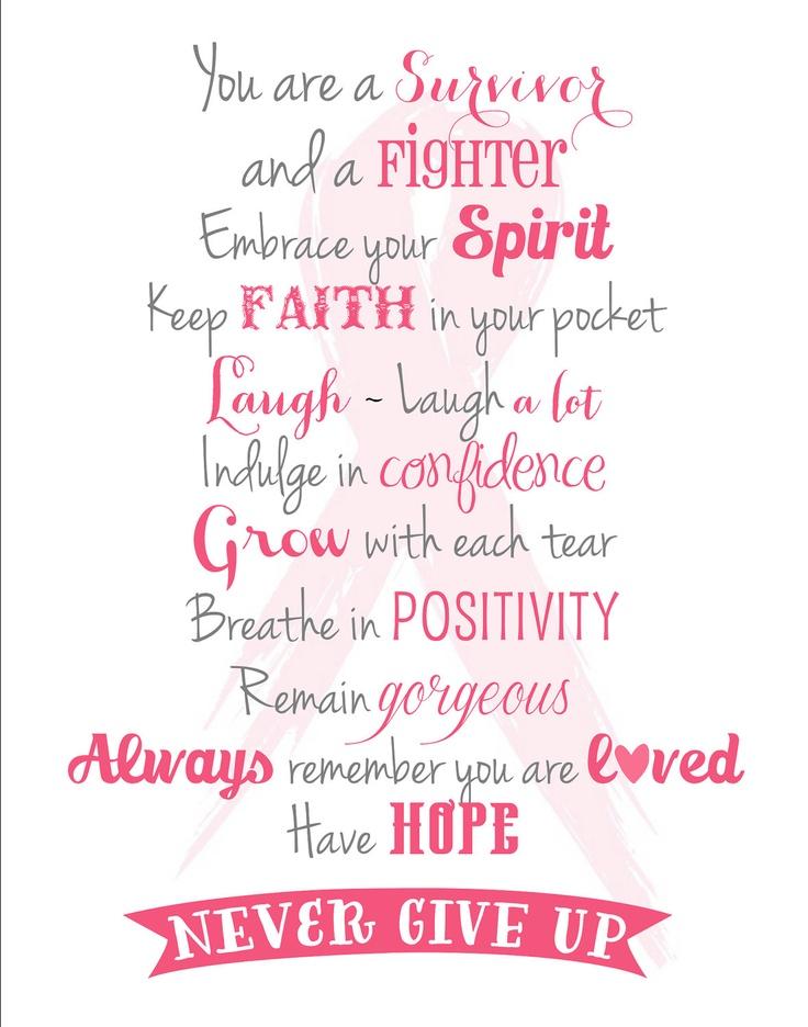 You are a Survivor. breast cancer. inpiration
