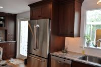 Deep top cabinet over fridge | Kitchen | Pinterest
