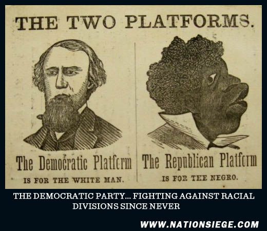 The close ties between democrats and white racists