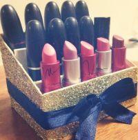 Lipstick holder #diy | Make up | Pinterest