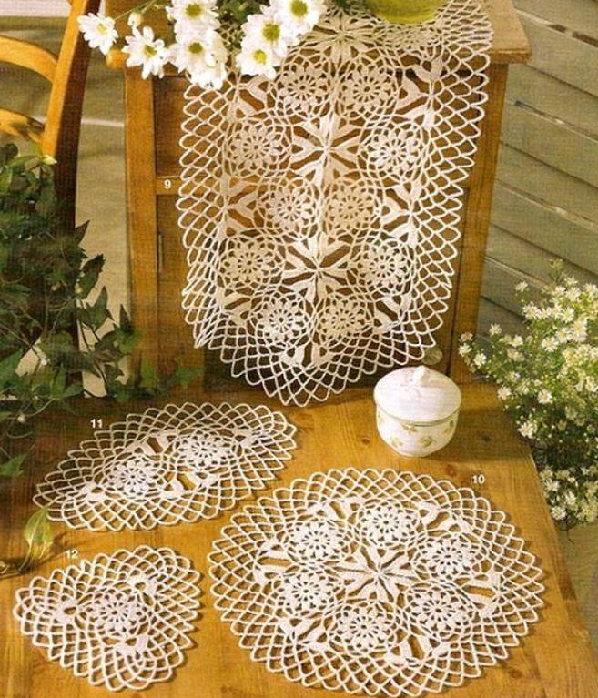 Crochet+Doilies+19.jpg 600×716 píxeles