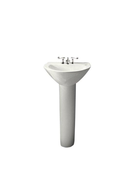 small pedestal sink  BATH  Pinterest