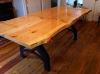 Live edge kitchen table for our house :) | Woodworking ...