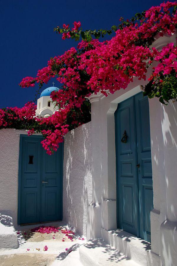 Santorini village house ~ Greece