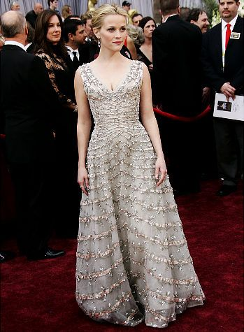 Reese Witherspoon | Vintage Christian Dior (1955) | Oscars 2006