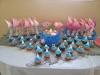 Beach theme baby shower | Baby Shower + Party Ideas ...