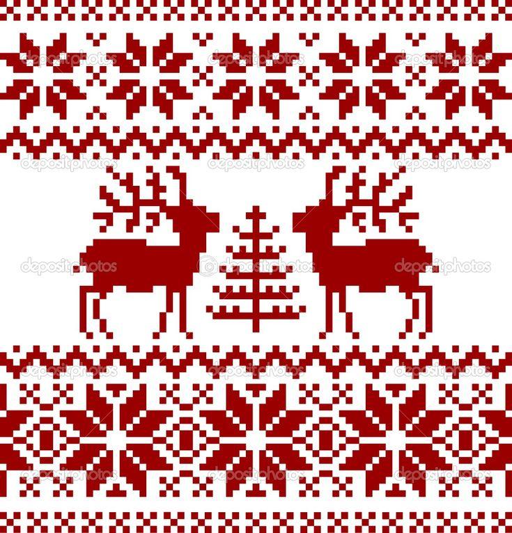 Free Christmas Tree Decorations Knitting Patterns