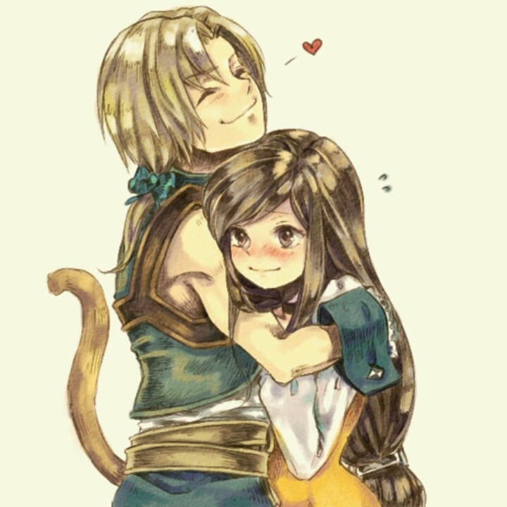 Zidane And Garnet Final Fantasy 9 Ffix Pinterest
