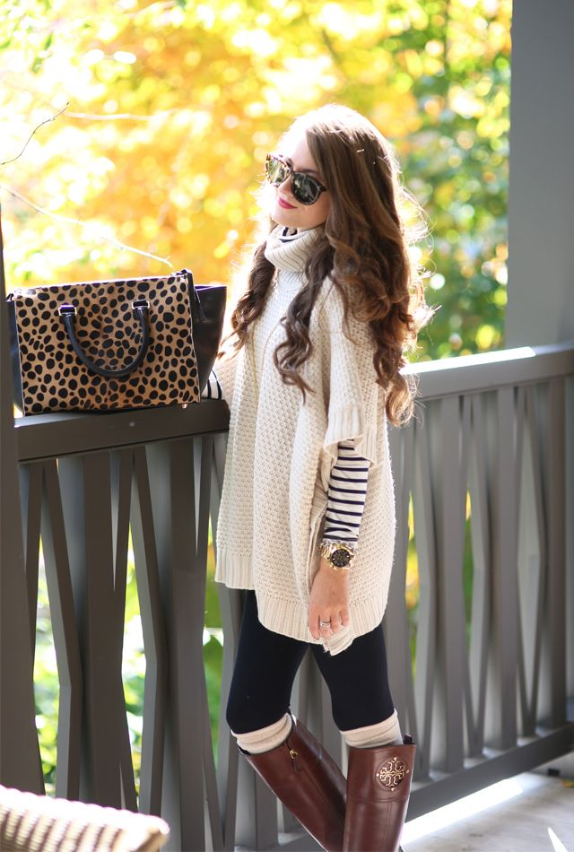 Perfectly cozy fall outfit