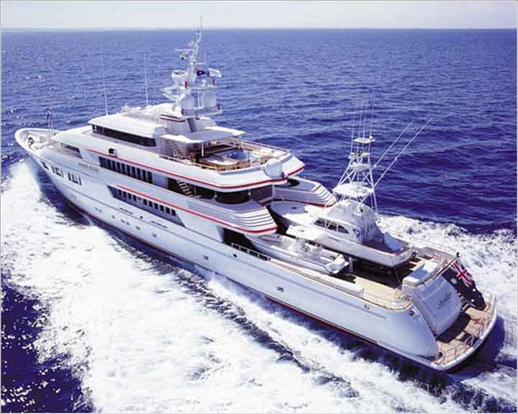 Greg Normans Yacht High Rollers On The High Seas Pinterest