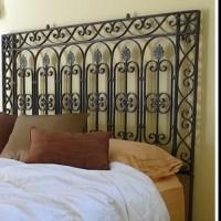 Wrought iron gate headboard | gorgeous homes & gardens ...