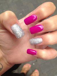 Acrylic nail design :