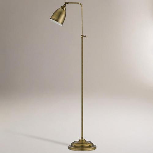 Antique Bronze Pharmacy Floor Lamp