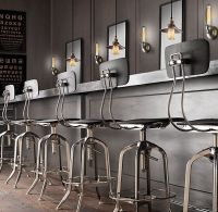 Restoration Hardware Bar Stools | SLC - F&B | Pinterest