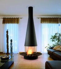 free standing vented gas fireplace   Ideas for Will ...