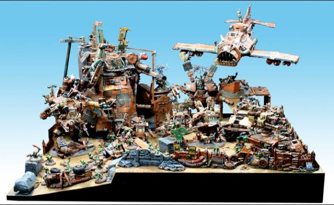 Pin By Cigar Box Battle On 40k Orks Pinterest
