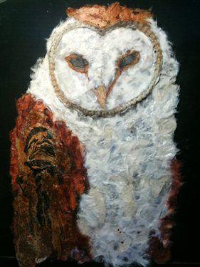 Barn-Owl-in-Torn-Paper-