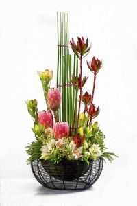 Contemporary floral arrangement | Floral Design Ideas ...