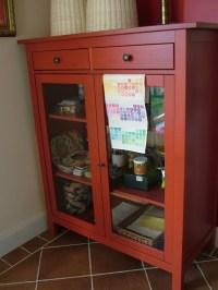 hemnes red linen cabinet | Linen Cabinets | Pinterest