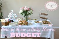 Baby Shower Food Ideas: Baby Shower Ideas On A Tight Budget
