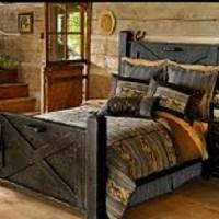 Barn door bedroom furniture | For the Home | Pinterest