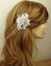 Victorian Style Bridal Hair Accessories, Pearl & Crystal ...