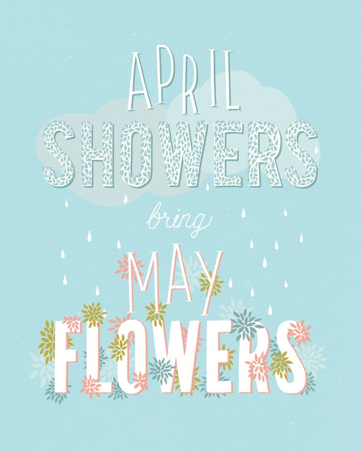 Showers May April Flowers Backgrounds Bring